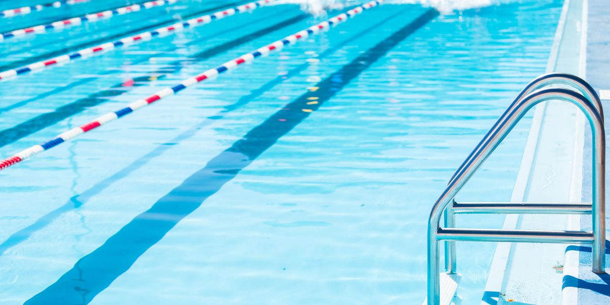 How an Olympic pool is being maintained